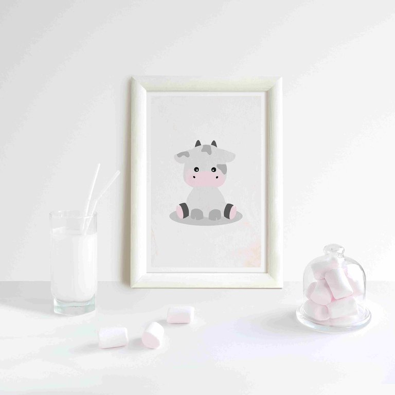 dreamchen poster einhorn klara 20x30 ohne rahmen poster wandbild dreamchen tiere plakat. Black Bedroom Furniture Sets. Home Design Ideas